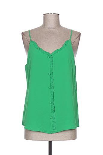 noemie & co chemises femme de couleur vert