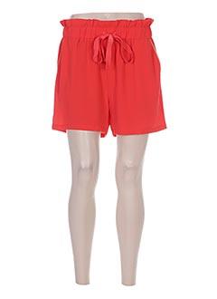 Produit-Shorts / Bermudas-Femme-Y'COO