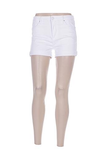 nina carter shorts / bermudas femme de couleur blanc