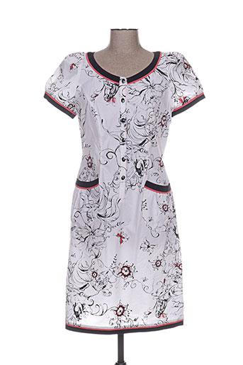 quattro robes femme de couleur blanc
