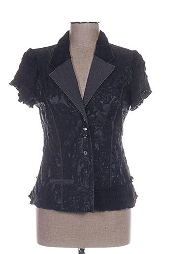 rosa rosam chemises femme de couleur noir