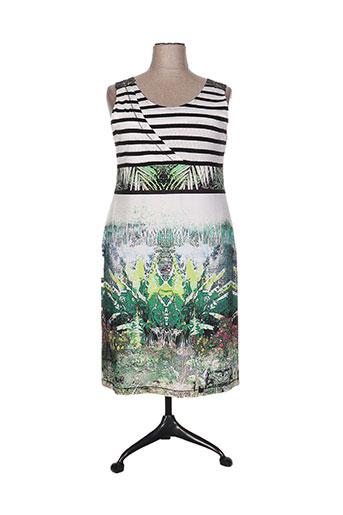 quattro robes femme de couleur vert