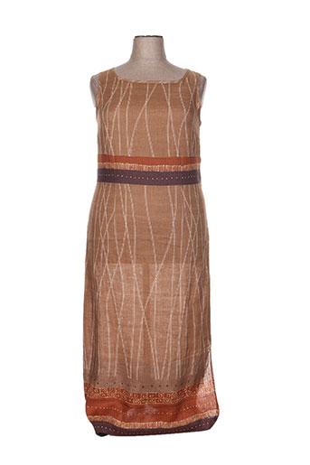 chassagnard robes femme de couleur marron