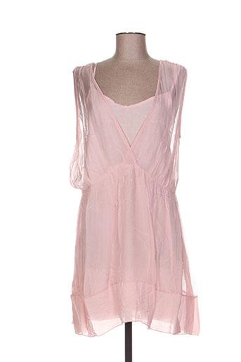 imperial robes femme de couleur rose
