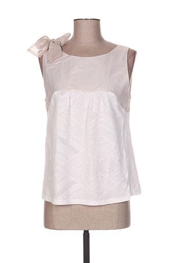 acoté t-shirts femme de couleur beige