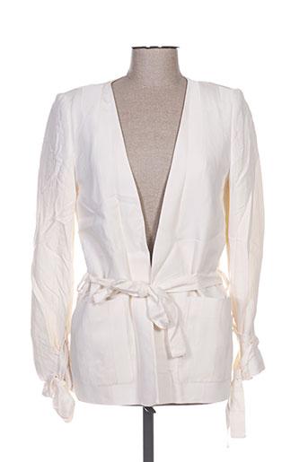 Veste casual beige MINIMUM pour femme
