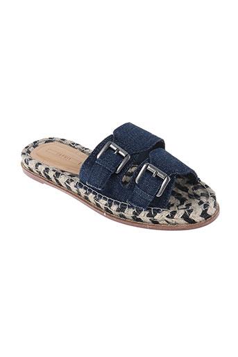esprit chaussures femme de couleur bleu