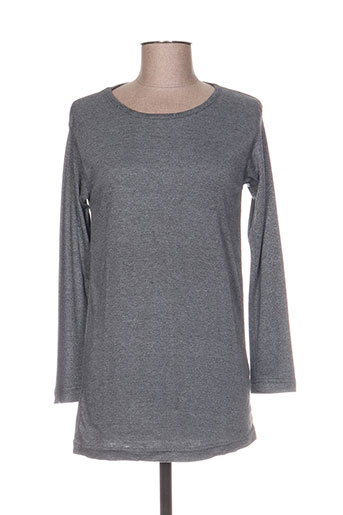 cotton kraft t-shirts femme de couleur gris