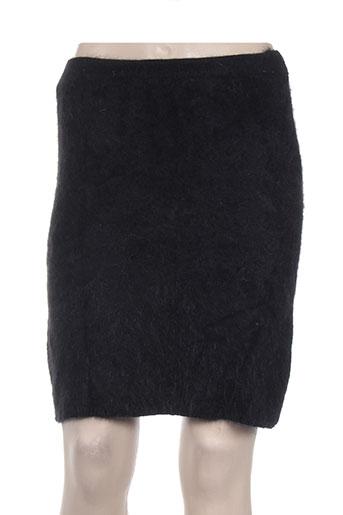 maille street jupes femme de couleur noir