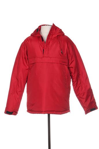homecore manteaux homme de couleur rouge