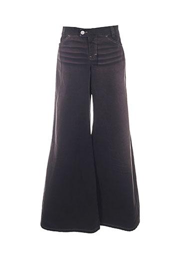 killah pantalons femme de couleur noir