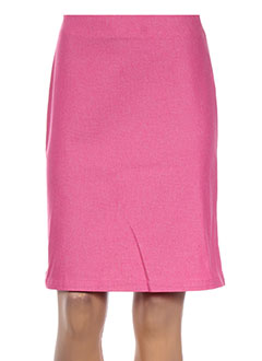 Jupe mi-longue rose KILIWATCH pour femme