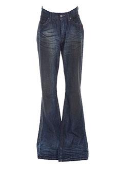 Jeans coupe droite bleu CHEFDEVILLE pour homme