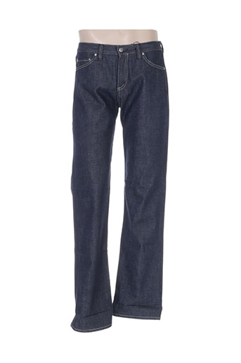 beckaro jeans homme de couleur bleu