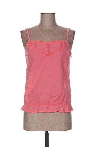 cimarron chemises femme de couleur rose