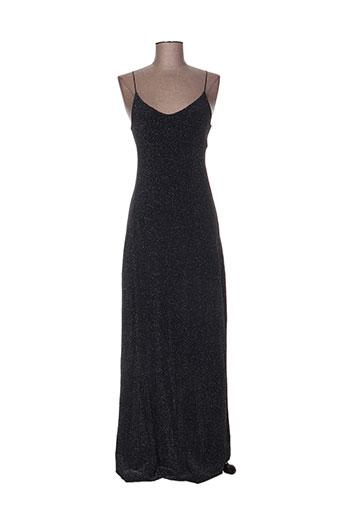 chic fille robes femme de couleur noir