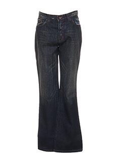 Jeans coupe droite bleu LULUCASTAGNETTE pour fille