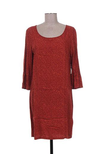 paramita robes femme de couleur orange