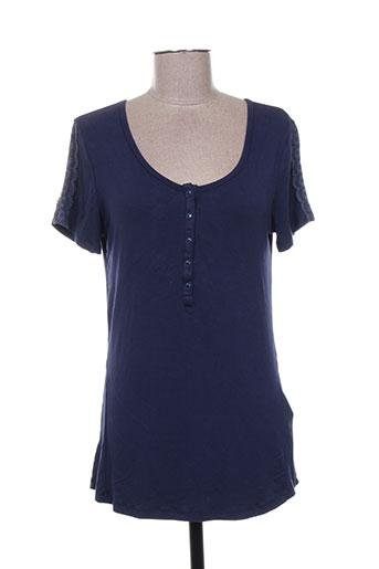 mismash t-shirts femme de couleur bleu
