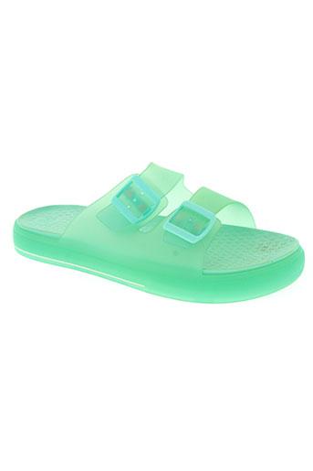igor chaussures enfant de couleur vert