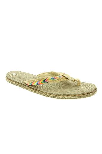 sunshine chaussures femme de couleur beige