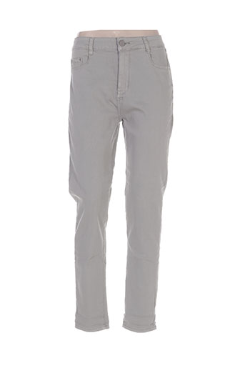 bs jeans jeans femme de couleur gris