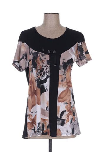 nanas de paris t-shirts femme de couleur noir