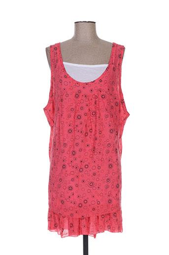f.d joseph tuniques femme de couleur rouge