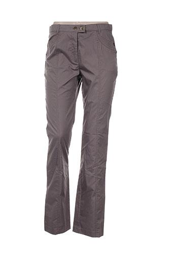 perspectives pantalons femme de couleur marron