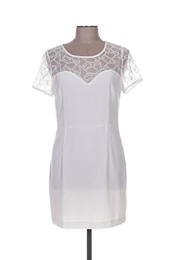 charlise robes femme de couleur blanc