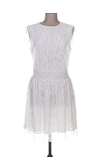 fracomina robes femme de couleur blanc