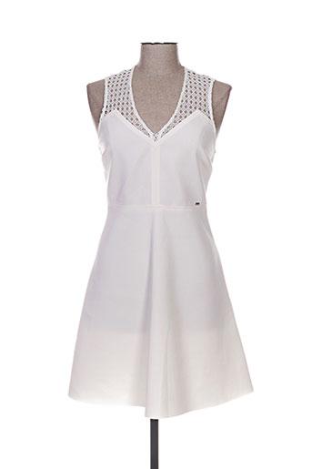 gaudi robes femme de couleur blanc