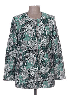 Veste casual vert CHARLISE pour femme