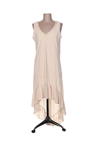 jessie EFFI_CHAR_1 vanessa robes femme de couleur beige
