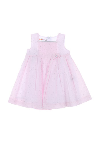 baby bol robes fille de couleur rose