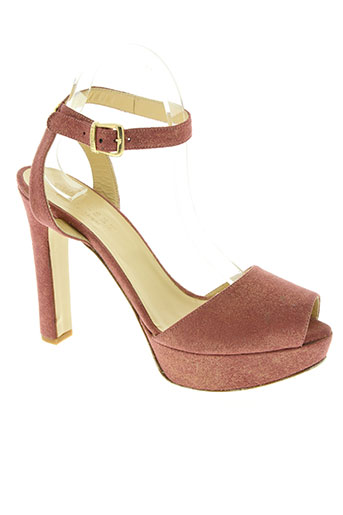 twin-set simona barbieri chaussures femme de couleur rose