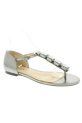 liu jo chaussures femme de couleur gris