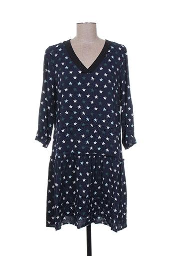 i.code (by ikks) robes femme de couleur bleu