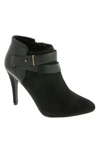 ideal chaussures femme de couleur noir