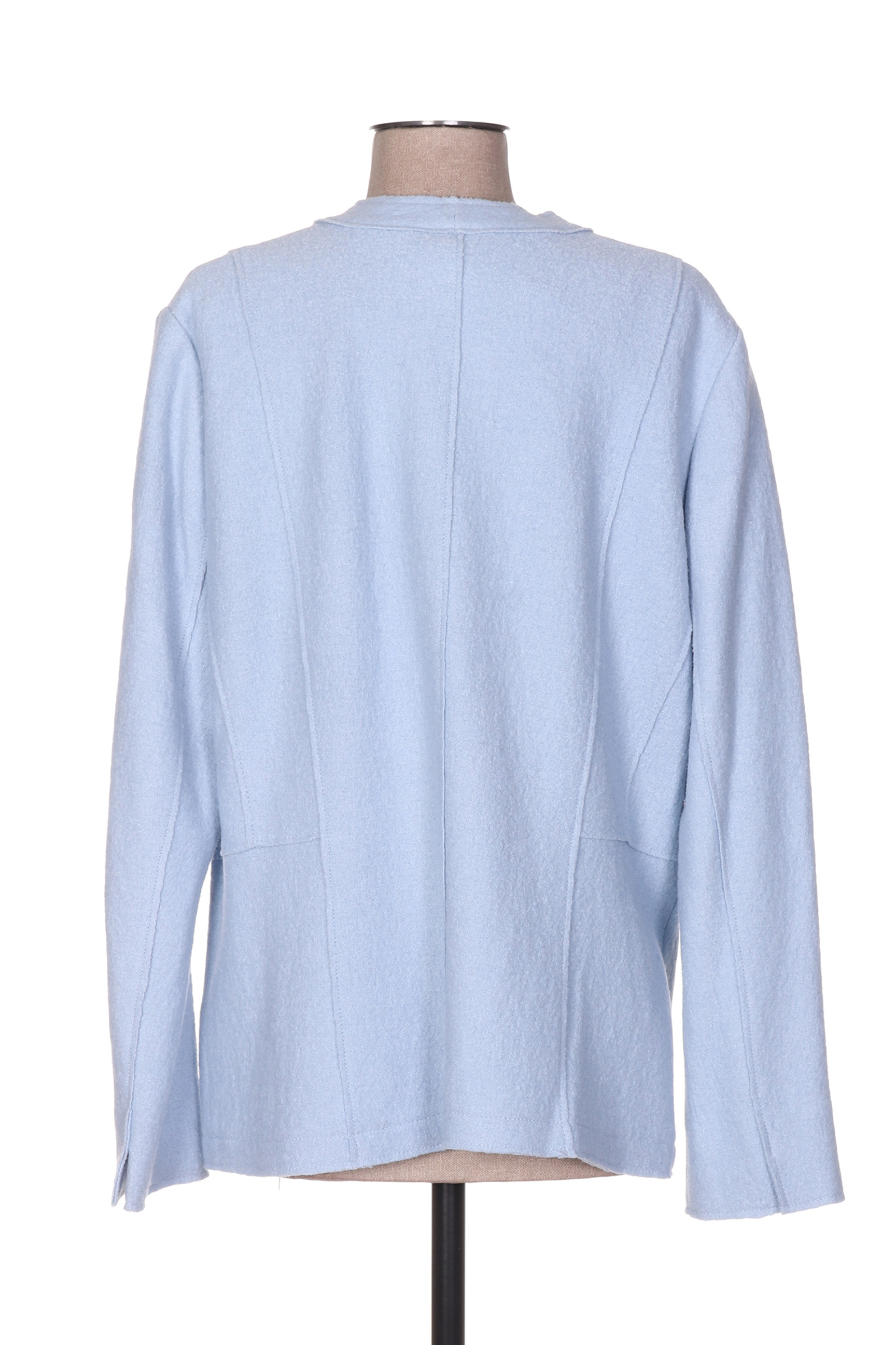 Gerry Weber Vestecasual Femme De Couleur Bleu En Soldes Pas Cher 1215766-bleu00