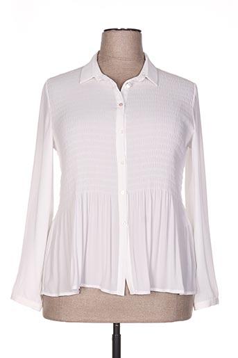 tinta style chemises femme de couleur beige