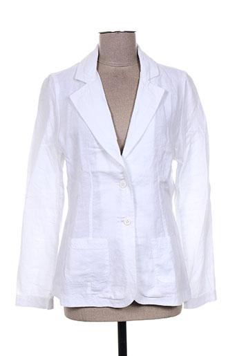 lucchini vestes femme de couleur blanc