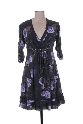 amari robes femme de couleur noir
