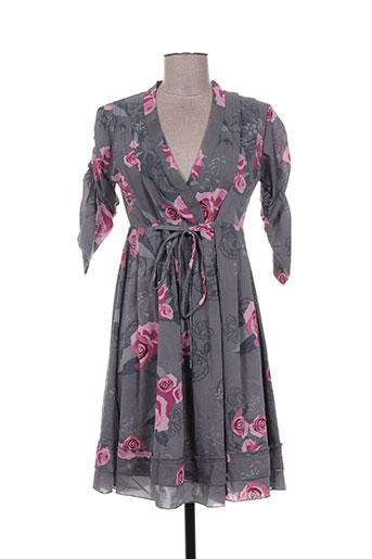 amari robes femme de couleur gris