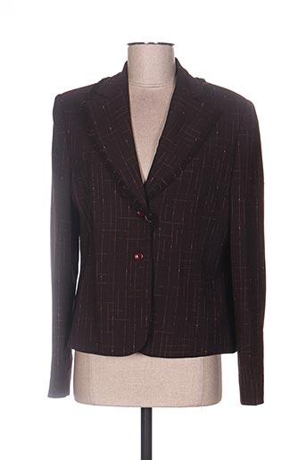 Veste chic / Blazer marron ASPECT CREATION pour femme