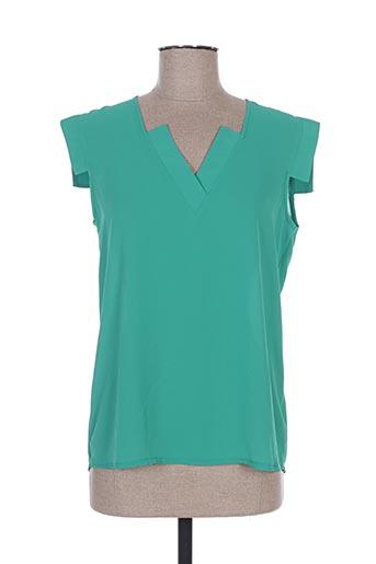sweed paris chemises femme de couleur vert