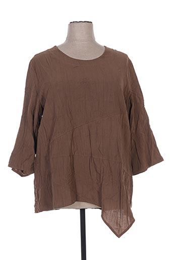 niederberger tuniques femme de couleur marron