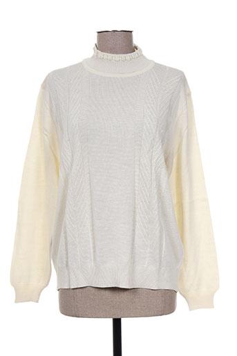 olivier de boissey pulls femme de couleur beige