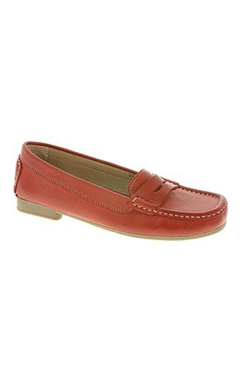 adour chaussures femme de couleur rouge