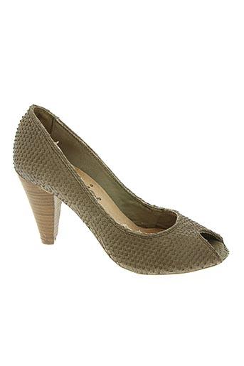 felmini chaussures femme de couleur marron